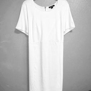 Roaman's Dresses - Roaman's White Bodycon Dress size 16W. EUC!